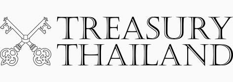 Treasury Thailand Co. Ltd Home Page Logo Gray Background 3