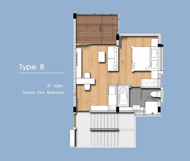 Floor Plan - Type B