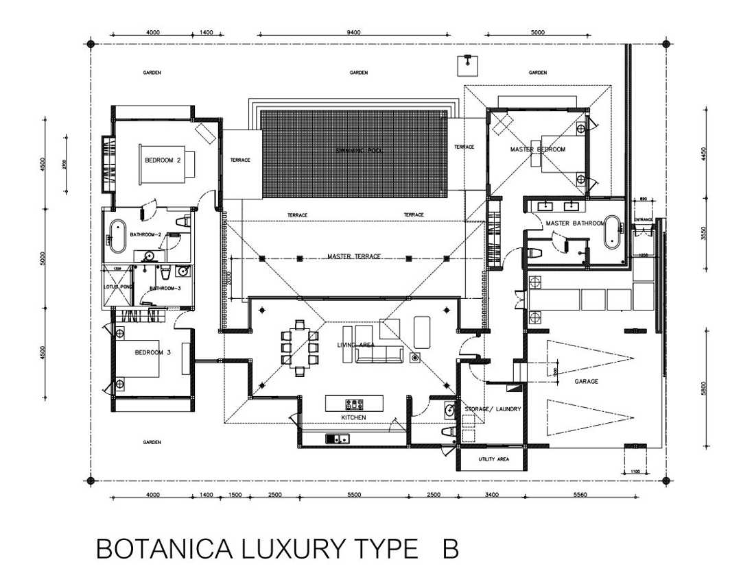 Botanica Luxury Type B