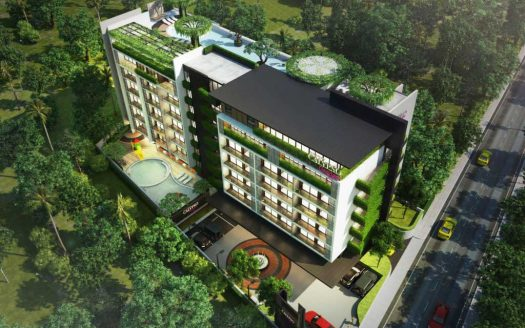 Treasury Thailand Real Estate Calypso Garden Residences Condominium 01