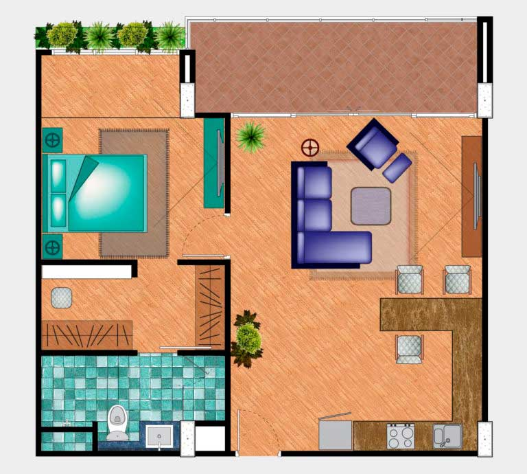 Floor Plan - Penthouse
