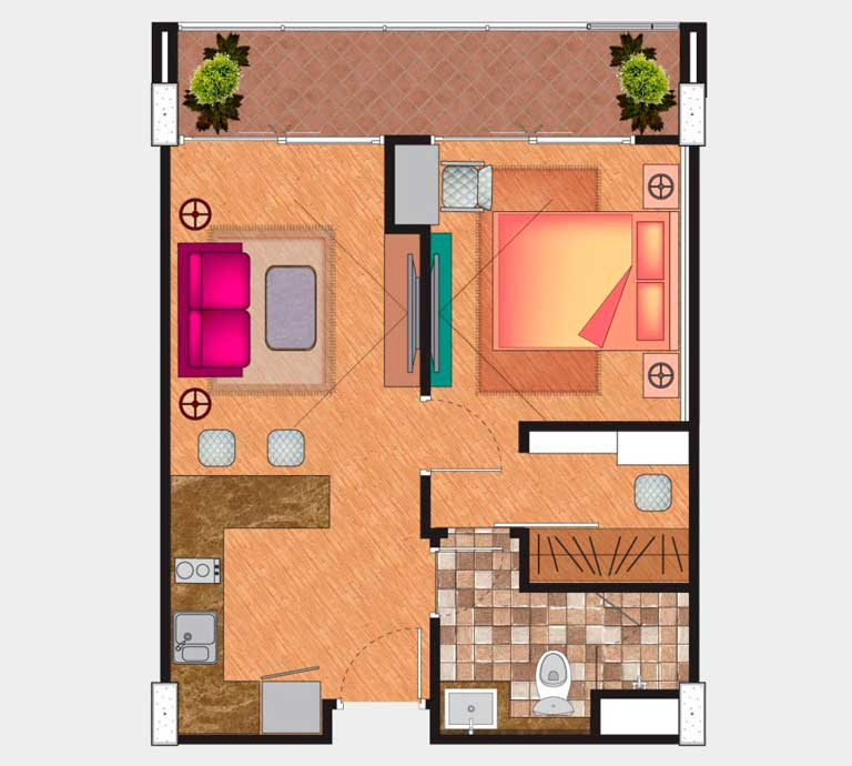 Floor Plan - Type A