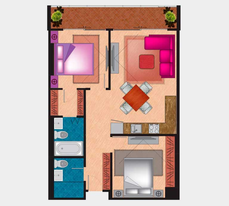 Floor Plan - Type C