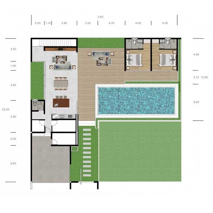 The DeLUX - Floor Plan