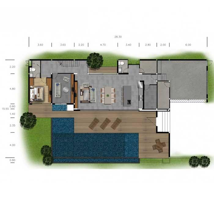 The SupremeLUX - Floor Plan