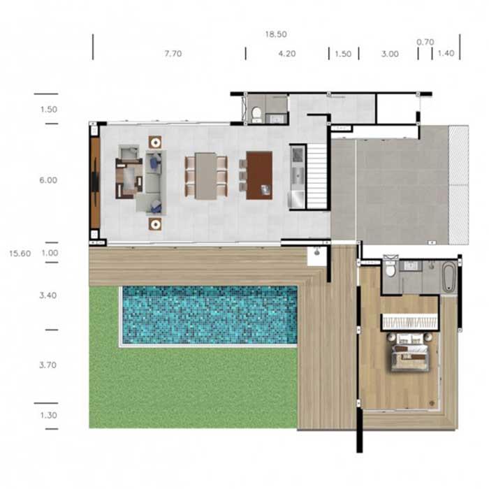 The LUX - Floor Plan