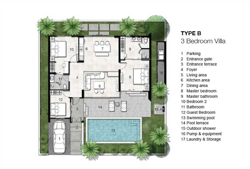 Floor Plan - Type B