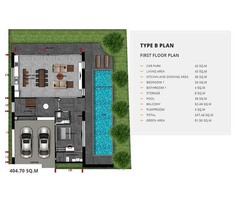 Type B First Floor