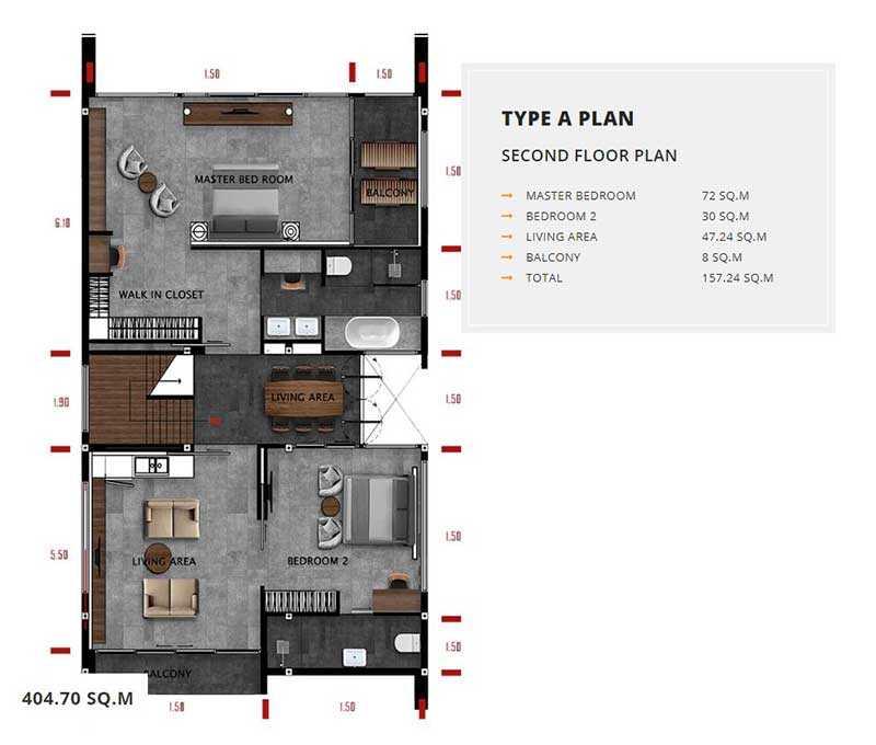 Type B Second Floor