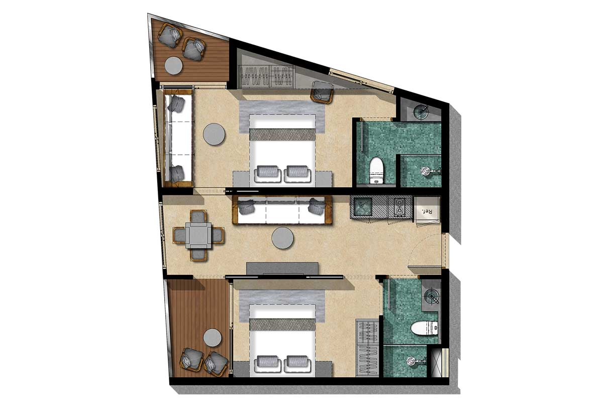 Floor Plan Type 1