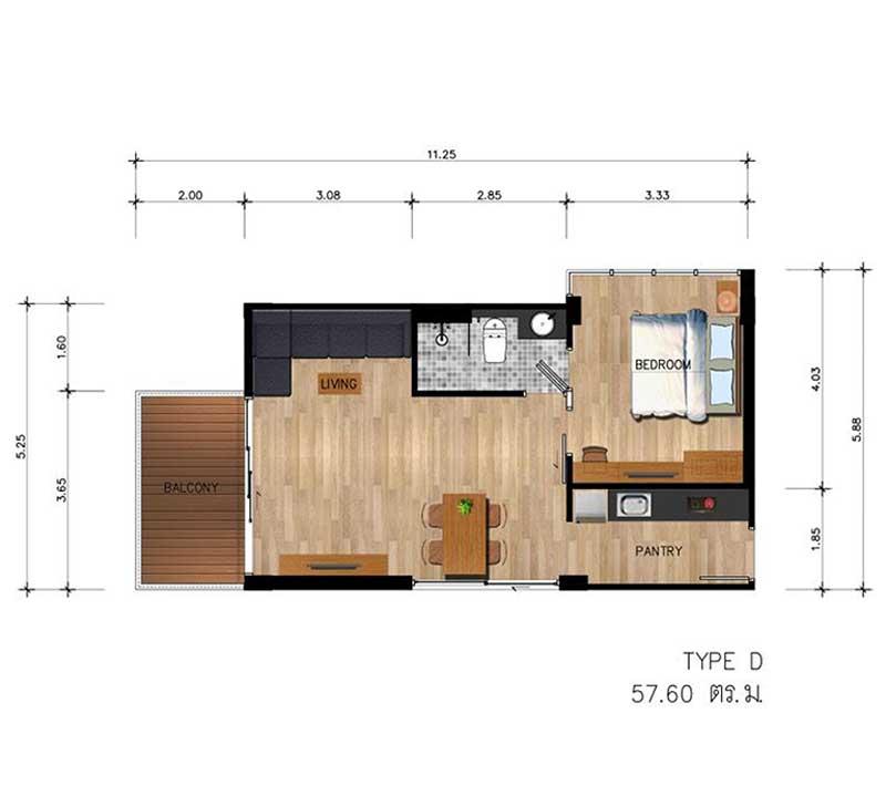 Floor Plan - Type D
